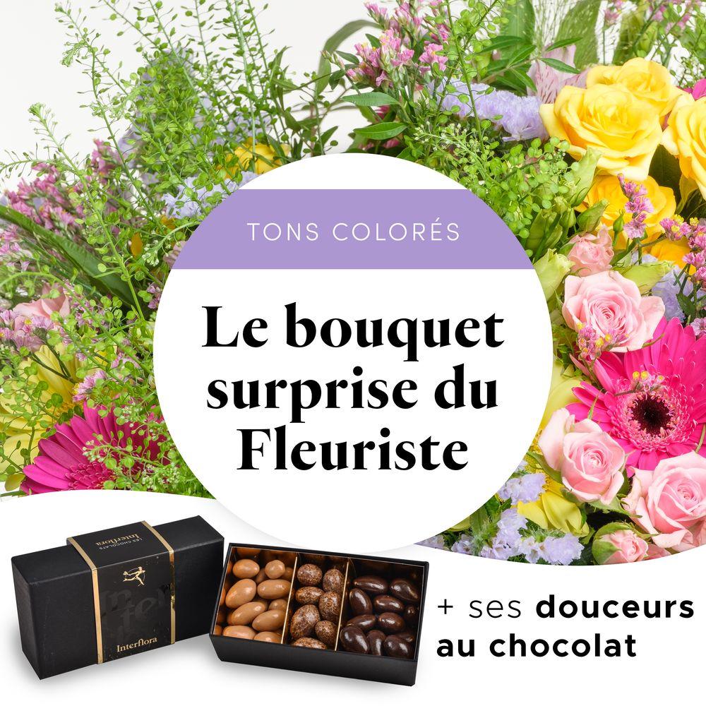 Bouquet gourmand du fleuriste
