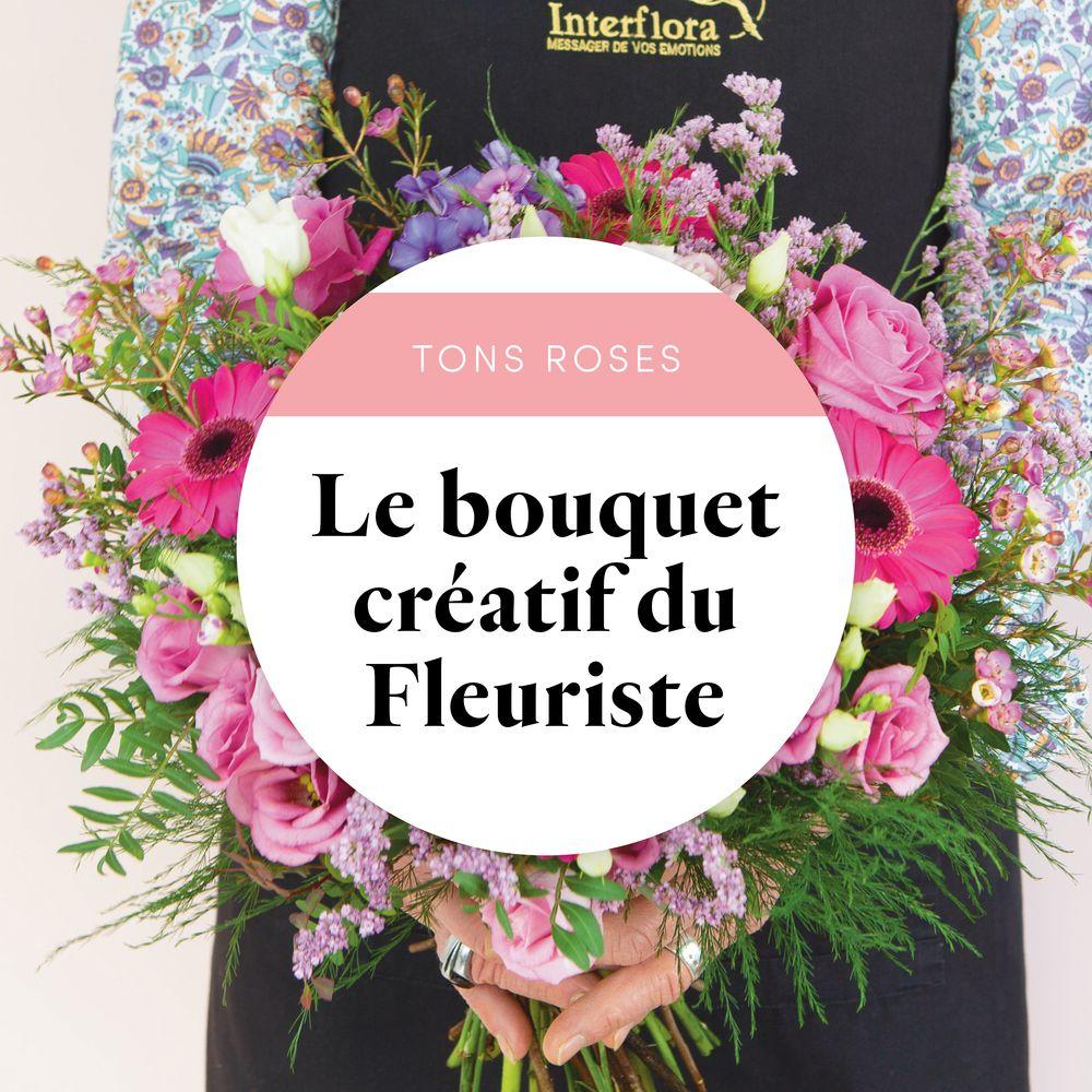 Bouquet du fleuriste Rose