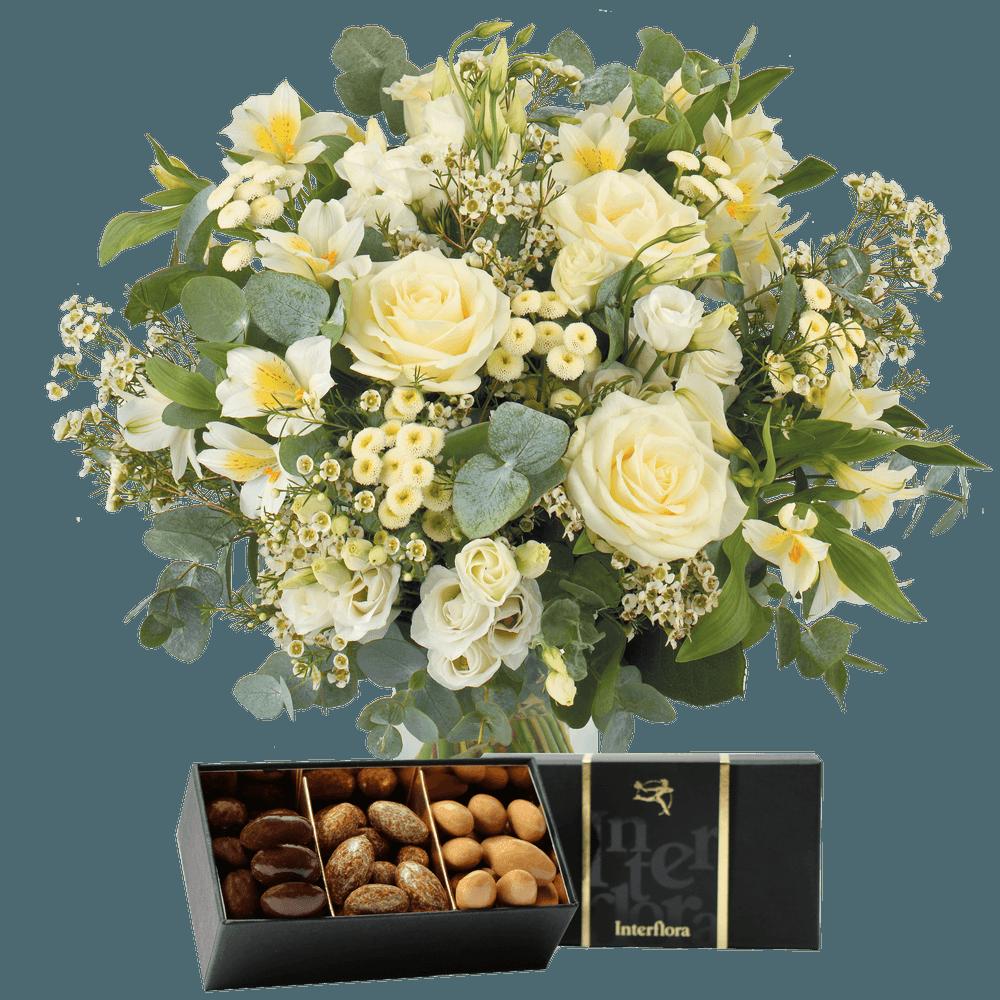 Paradis blanc et ses amandes au chocolat