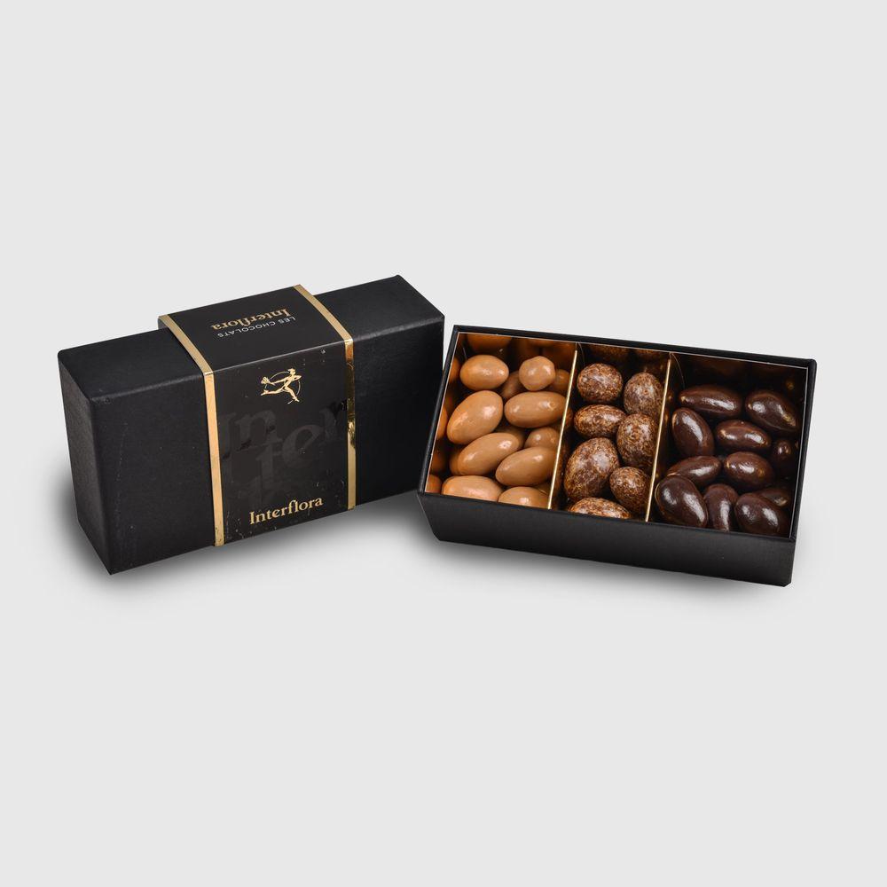 Zeste tendre et ses amandes au chocolat