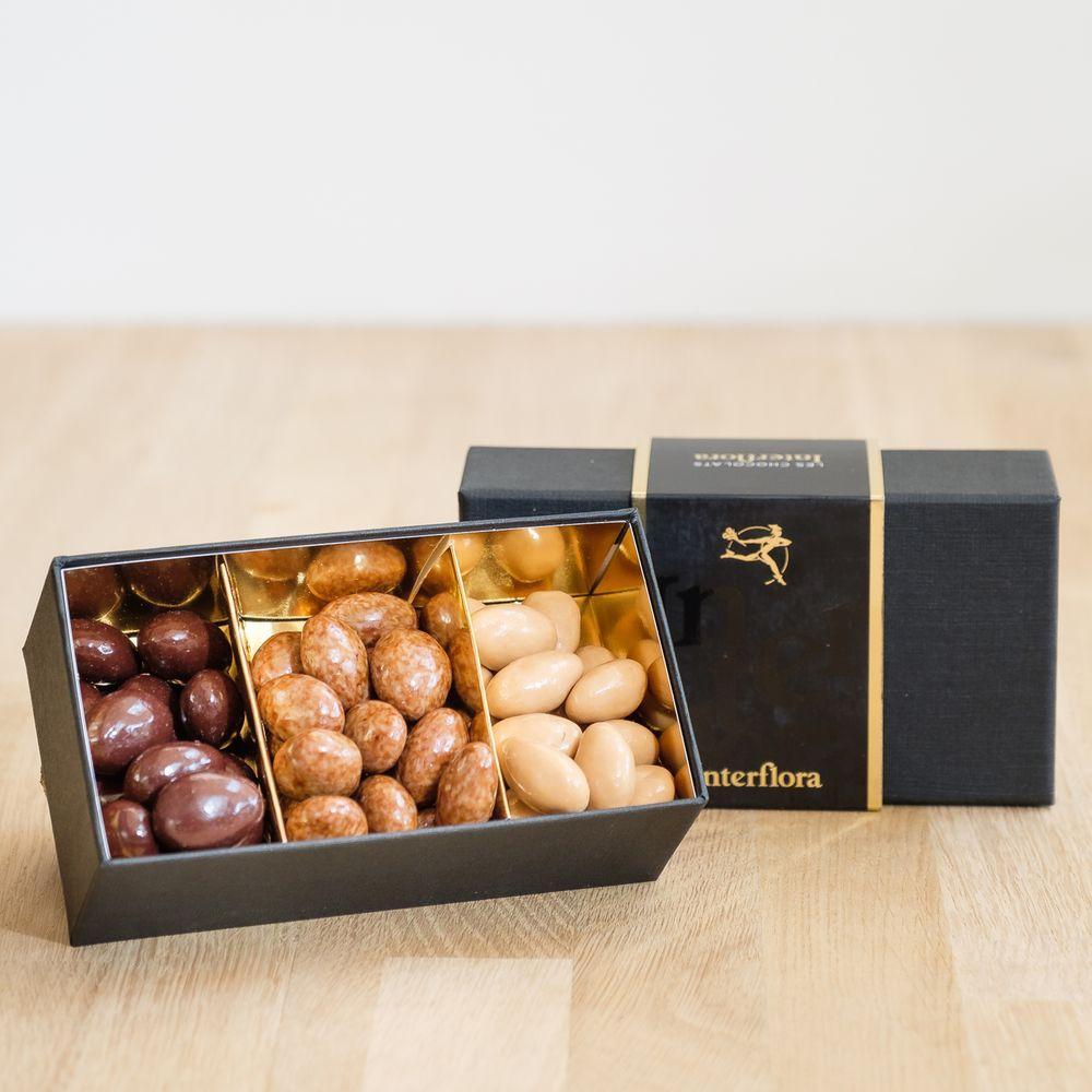 Candide et ses amandes au chocolat