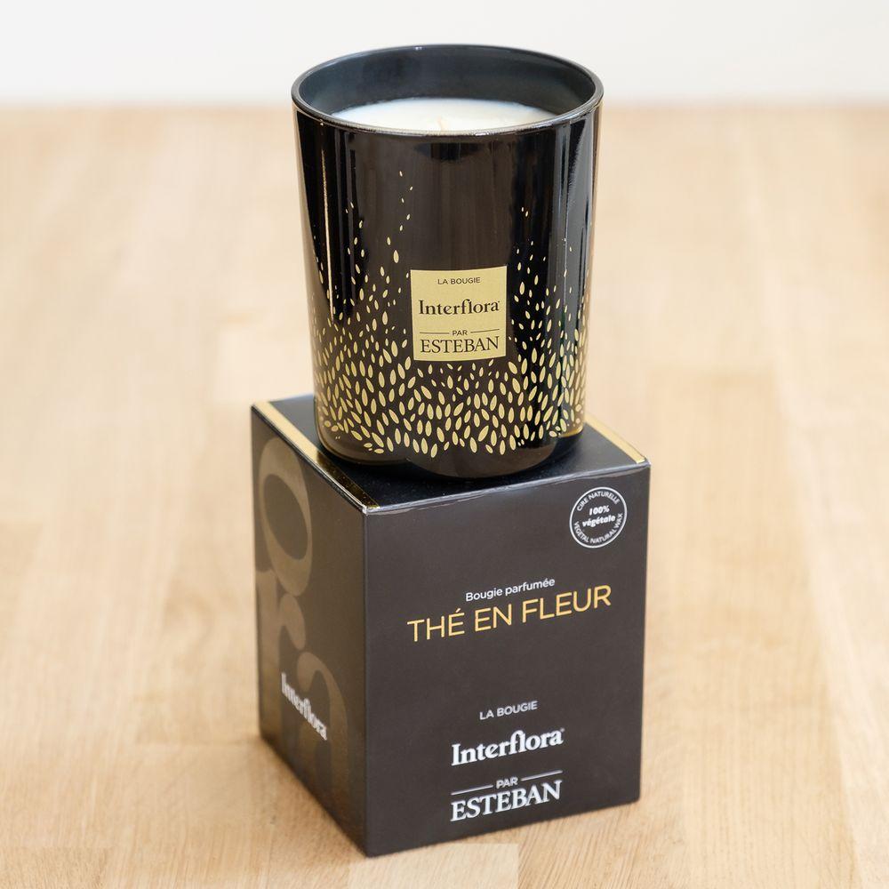 Candide et sa bougie parfumée Esteban