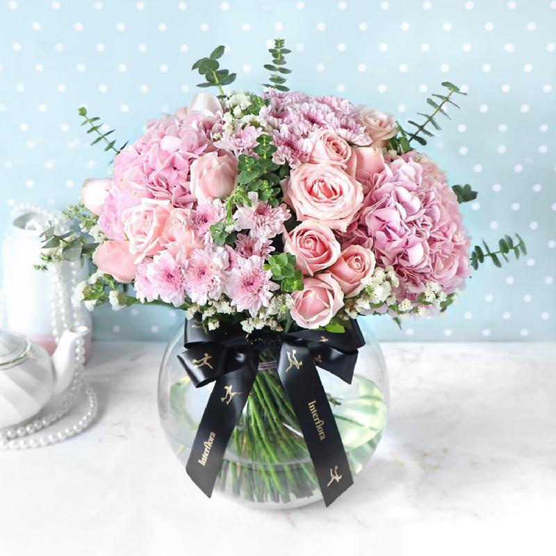 Pink Extravaganza Flower Arrangement