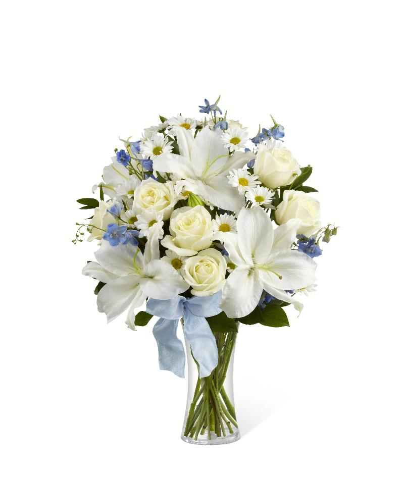 Sweet Peace Bouquet vase included