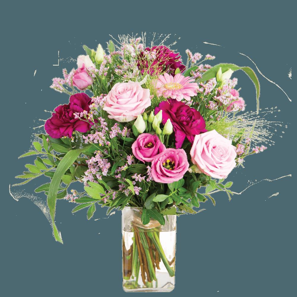 Bois de rose et son vase