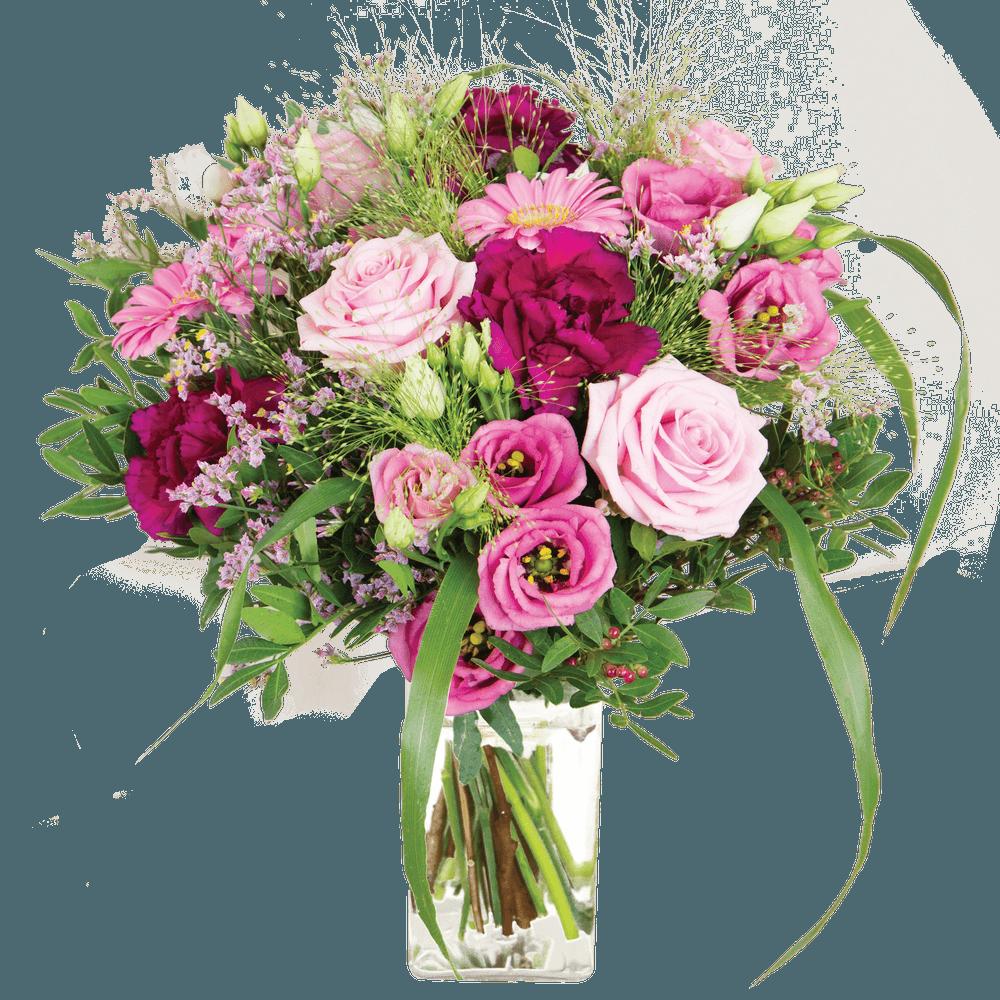 Bois de rose et son vase offert