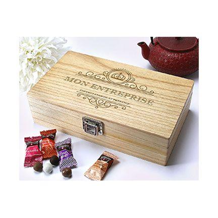 Coffret de chocolats Monbana