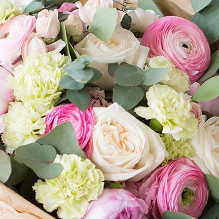 Abonnement - bouquet de saison - tous les mois - pour une durée de 3 mois - Taille Normale