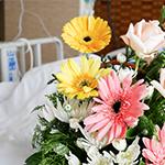 Faire livrer des fleurs dans un hôpital
