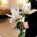 Les fleurs de circonstances en cas de deuil