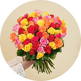 Bouquets de roses