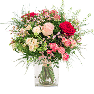 Bouquet de fleurs Bouquet de l'amour Fête des Mères