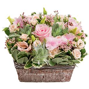 Composition florale Nuage de tendresse Fête des Mères