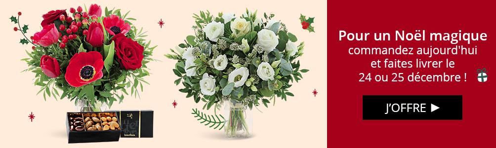 Pour Noël, faites-vous livrer pour le 24 ou 25 décembre