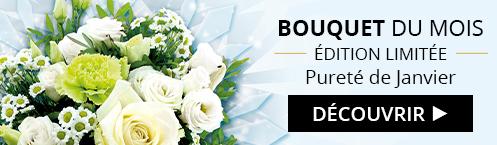 Découvrez notre bouquet du mois