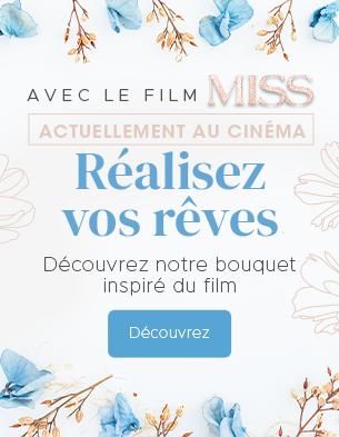 Interflora partenaire du film Miss