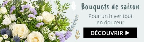 Découvrez nos bouquets de saison