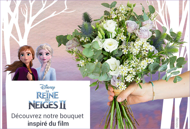 Bouquet Disney : découvrez notre bouquet Elsa