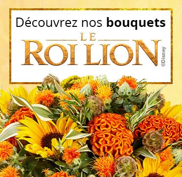 Le bouquet Roi Lion