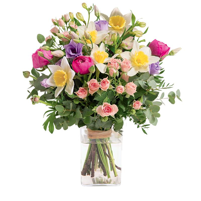 Le bouquet Câline par Interflora : un joli bouquet pour la Fête des Grand Meres 2018