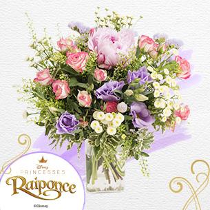 Bouquet de fleurs Raiponce Fête des Mères