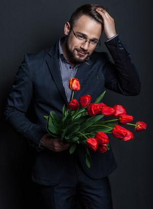 envoyer ou offrir des fleurs un homme interflora. Black Bedroom Furniture Sets. Home Design Ideas