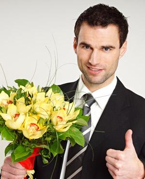 Quel bouquet offrir à un homme?