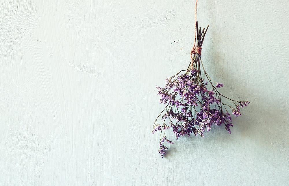 fleurs sécher