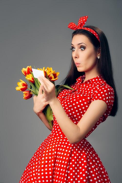 Quand envoyer des fleurs anonymement?