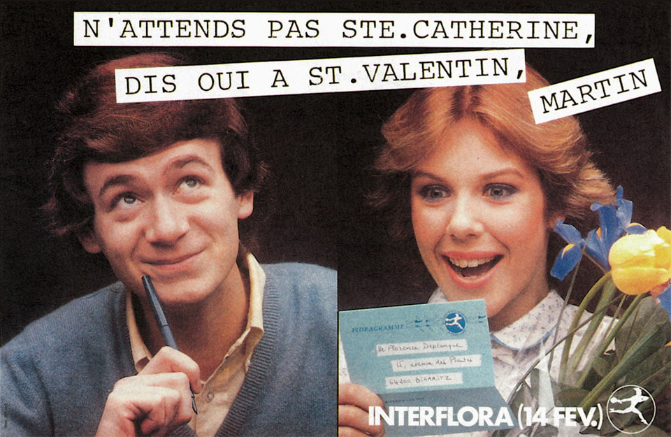 Les slogans Interflora
