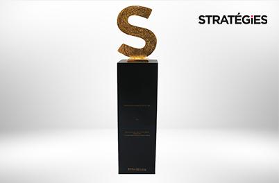 Interflora, trophée Or Grand Prix Stratégies du Digital, catégorie Médias Sociaux