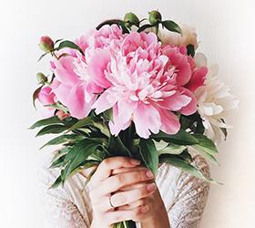 livraison de fleurs dans un hôpital