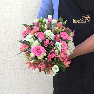 Un bouquet de fleurs fraiches chez vous dans la journée !