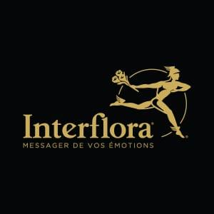 Logo Interflora officiel - www.interflora.fr