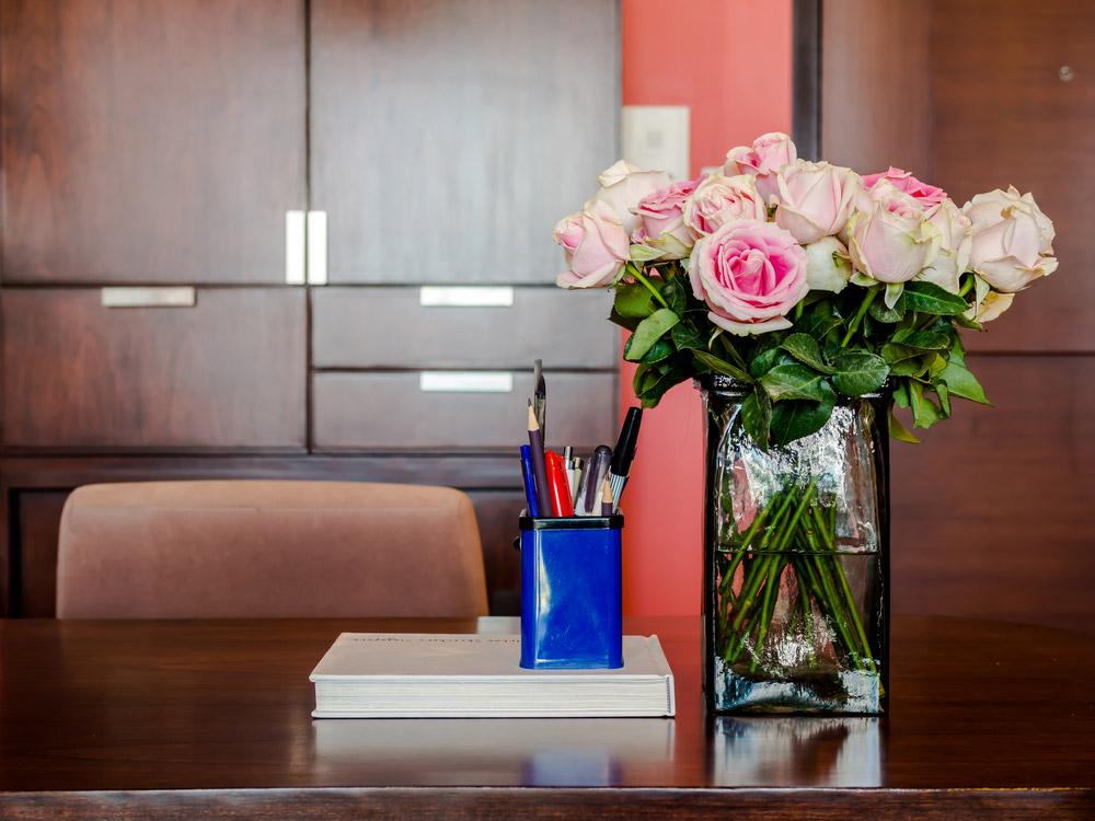 Fleurs Et Remerciements Dans Le Monde Professionnel