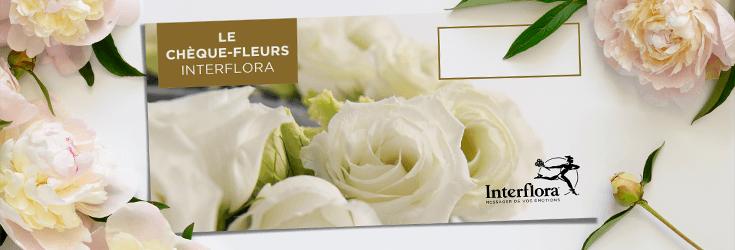 Les chèques-fleurs