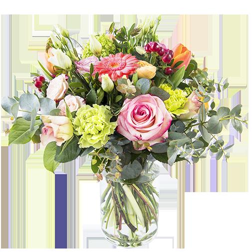 Bouquet de roses Mamie chérie