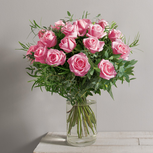 Bouquet de roses Alchimie rose