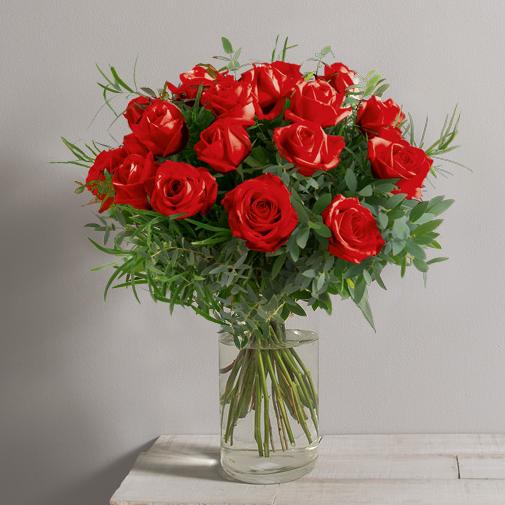 Bouquet de roses Alchimie rouge