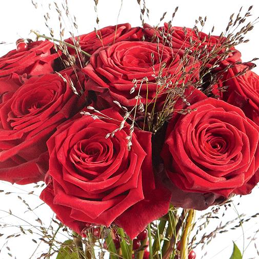 Bouquet de roses Audace