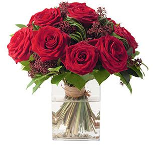 Bouquet de roses Capri Amour