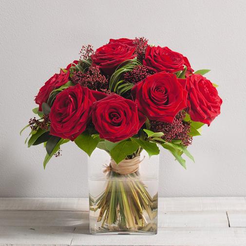 Bouquet de roses Capri