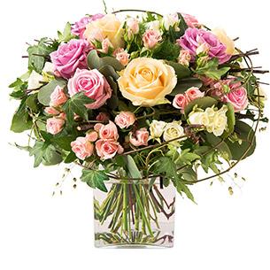 bouquet de fleurs livraison de bouquets de fleurs interflora. Black Bedroom Furniture Sets. Home Design Ideas