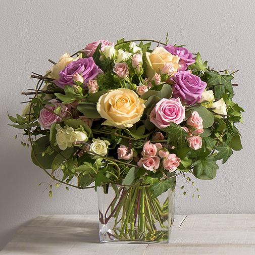 Bouquet de roses Charme