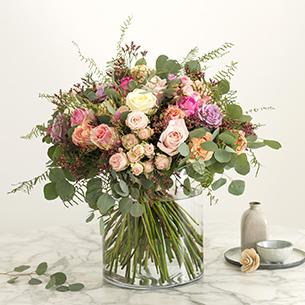 Bouquet de roses Charme absolu Collection Prestige