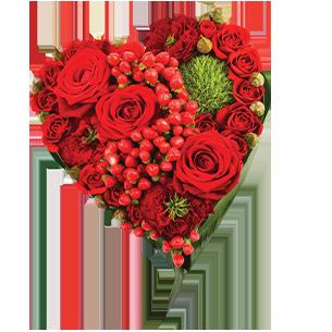 Bouquet de roses Cupidon Saint Amour