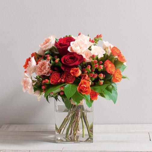 Bouquet de roses Dédicace