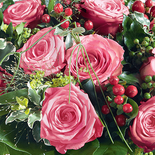 Bouquet de roses Elixir