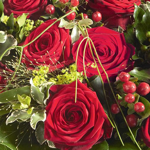 Bouquet de roses Elixir rouge