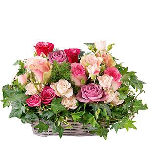 Bouquet de roses Esquisse Cadeau Mariage